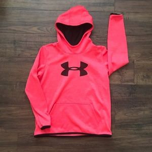 Youth Under Armour Storm Cold Gear Hooded Sweater